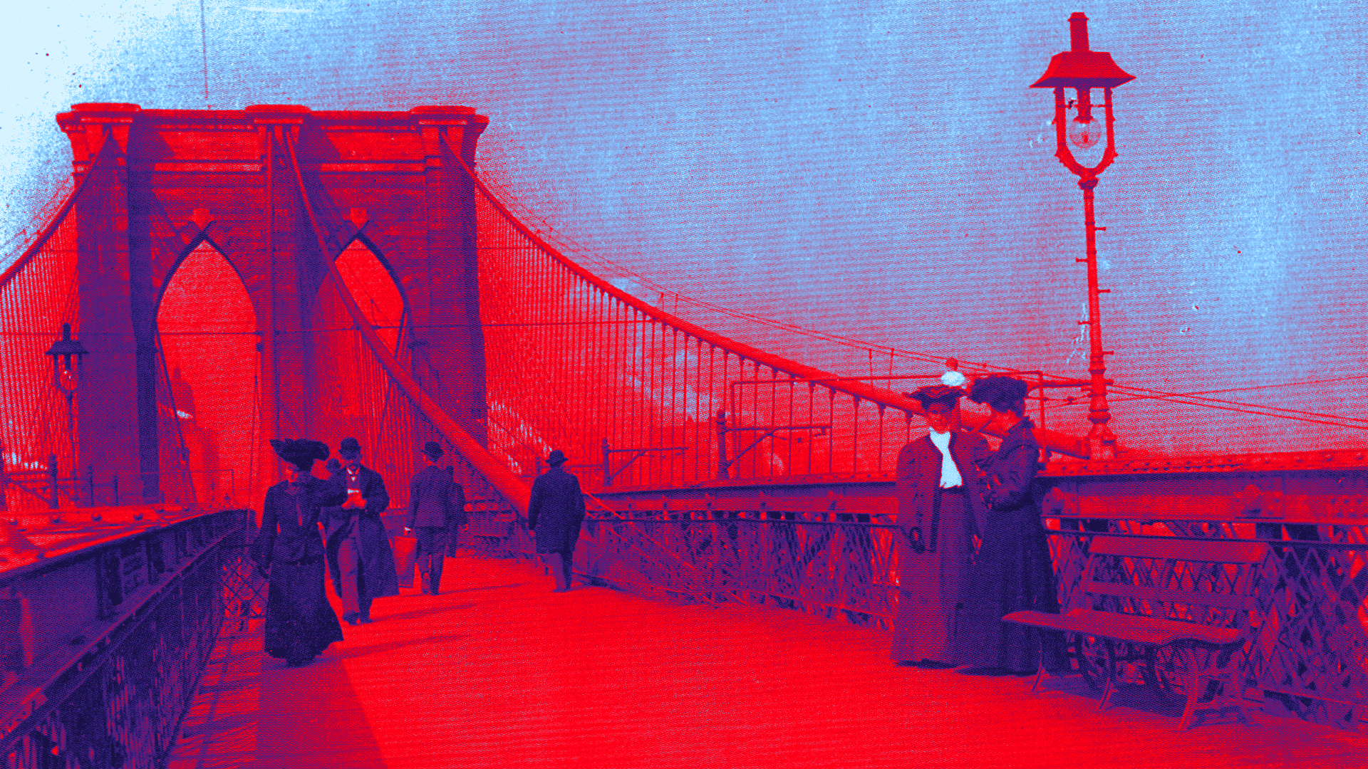 Brooklyn Bridge, 1890s