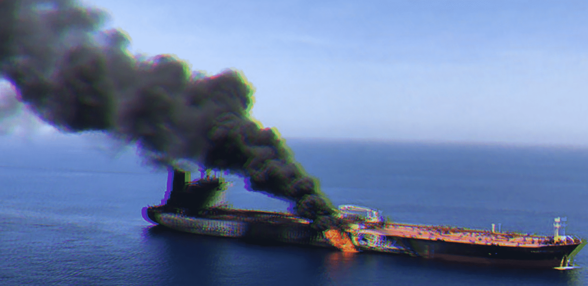 Gulf of Oman 'attack': Oil tankers on fire amid rising tensions between Iran and rivals