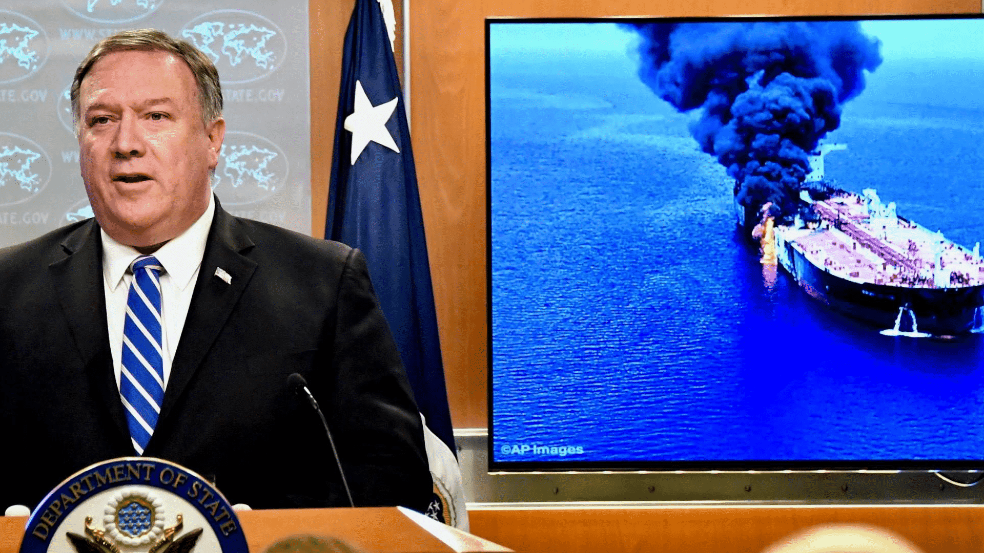 Mike Pompeo makes statement on Japanese oil tanker attack in the Gulf of Oman