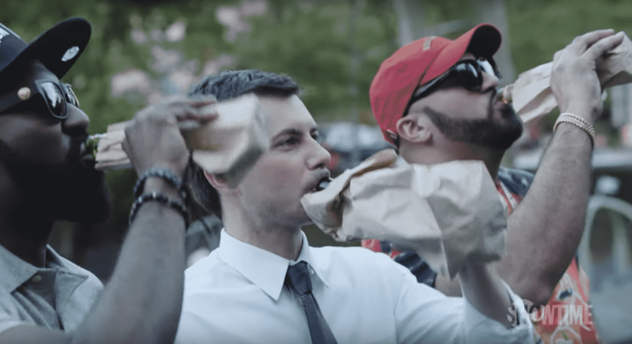 Mayor Pete Buttigieg Drinks wtih the DESUS & MERO on SHOWTIME