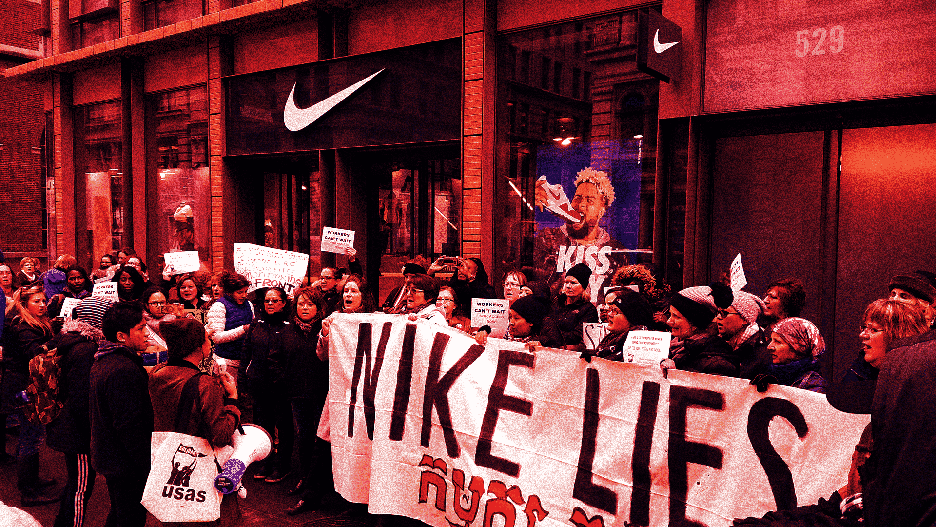 Nike Protest