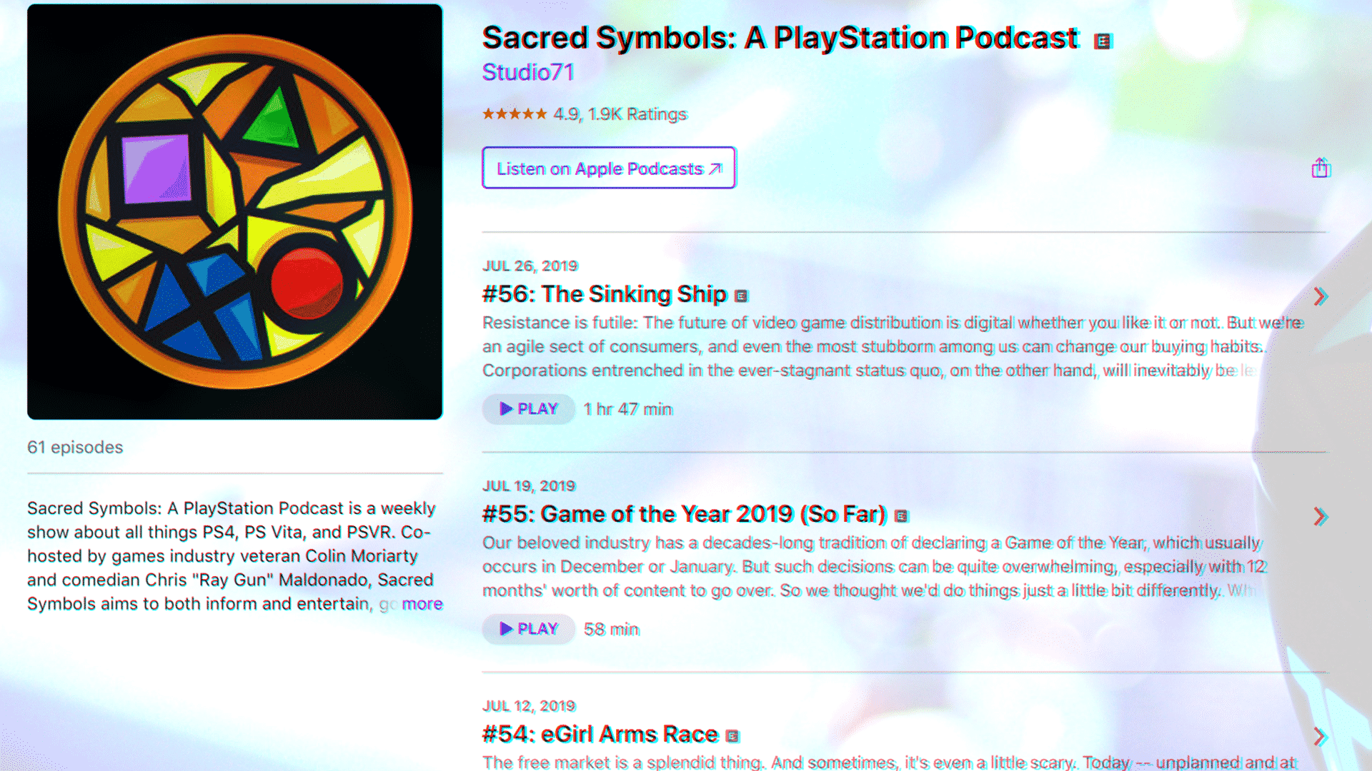 Sacred Symbols Podcast