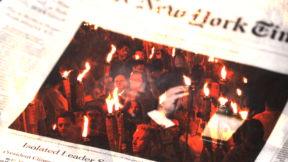 The Democratic/Media Complex Bitterly Clings to the Charlottesville Lie, New York Times