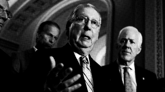 Senate Republicans Are Awol In The Oversight War. / Mitch McConnell