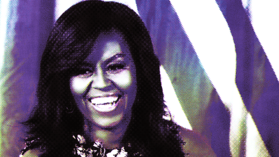 Michelle Obama Is Quietly Waiting to Save the Democratic Party.