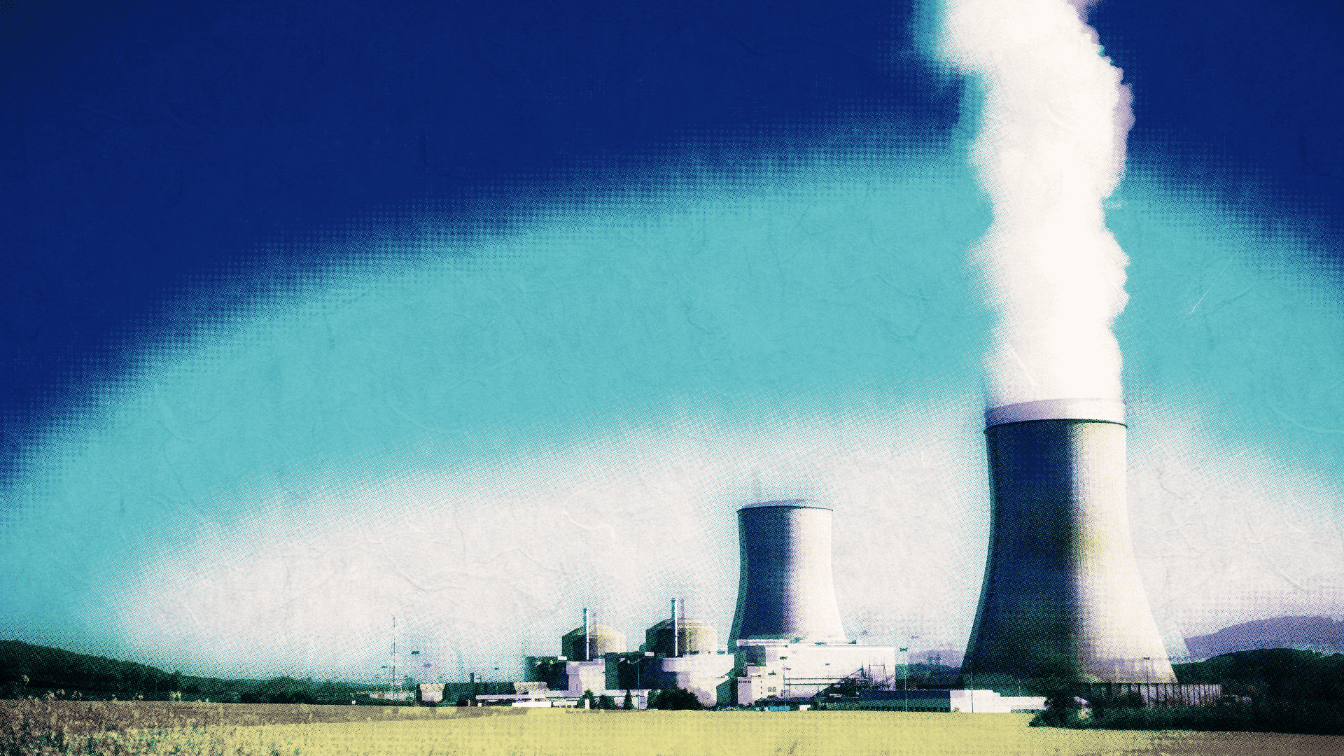 Nuclear power plants. // AMERICA FIRST ON CARBON EMISSIONS