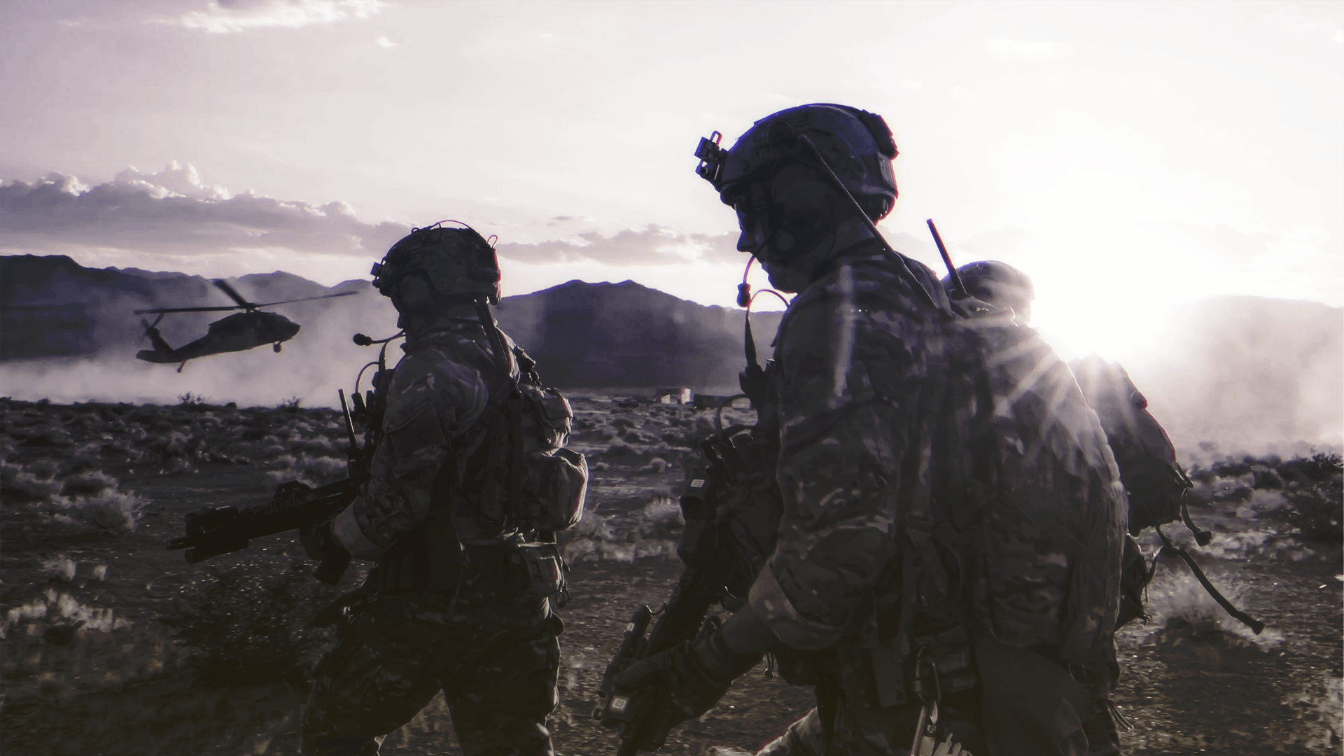 Green Berets assigned to 3rd Special Forces Group. Photo by Sgt. Steven Lewis.