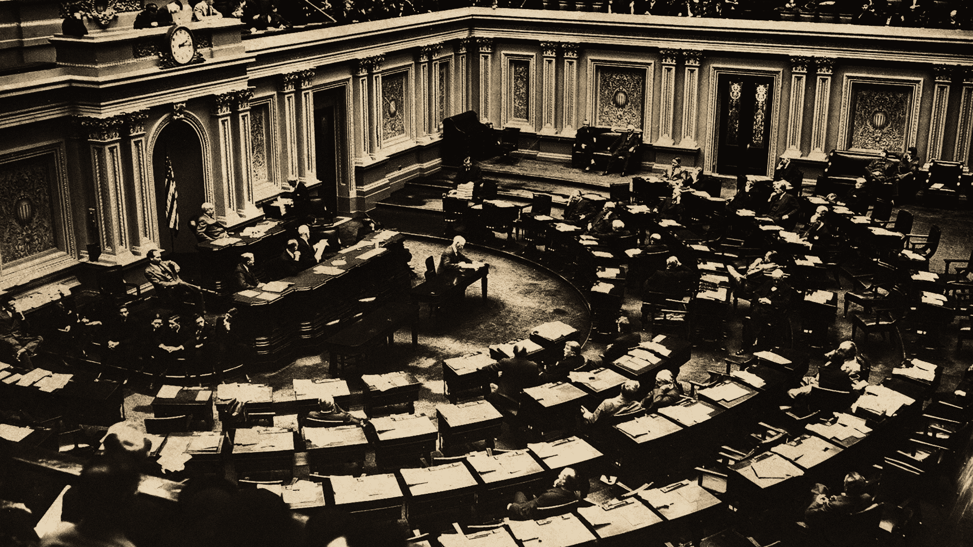 U.S. Senate chamber while in session ca. January 1939.