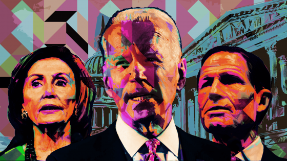Joe Biden, Nancy Pelosi, Richard Blumenthal, Democrats