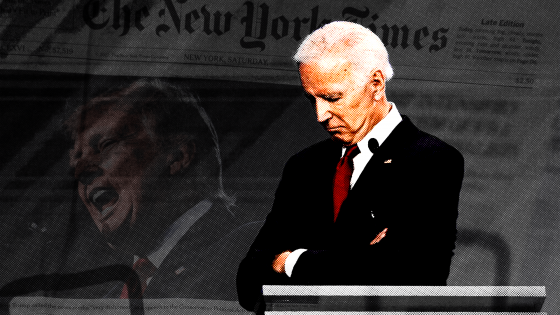 Of Course The New York Times is Carrying Water for Joe Biden.