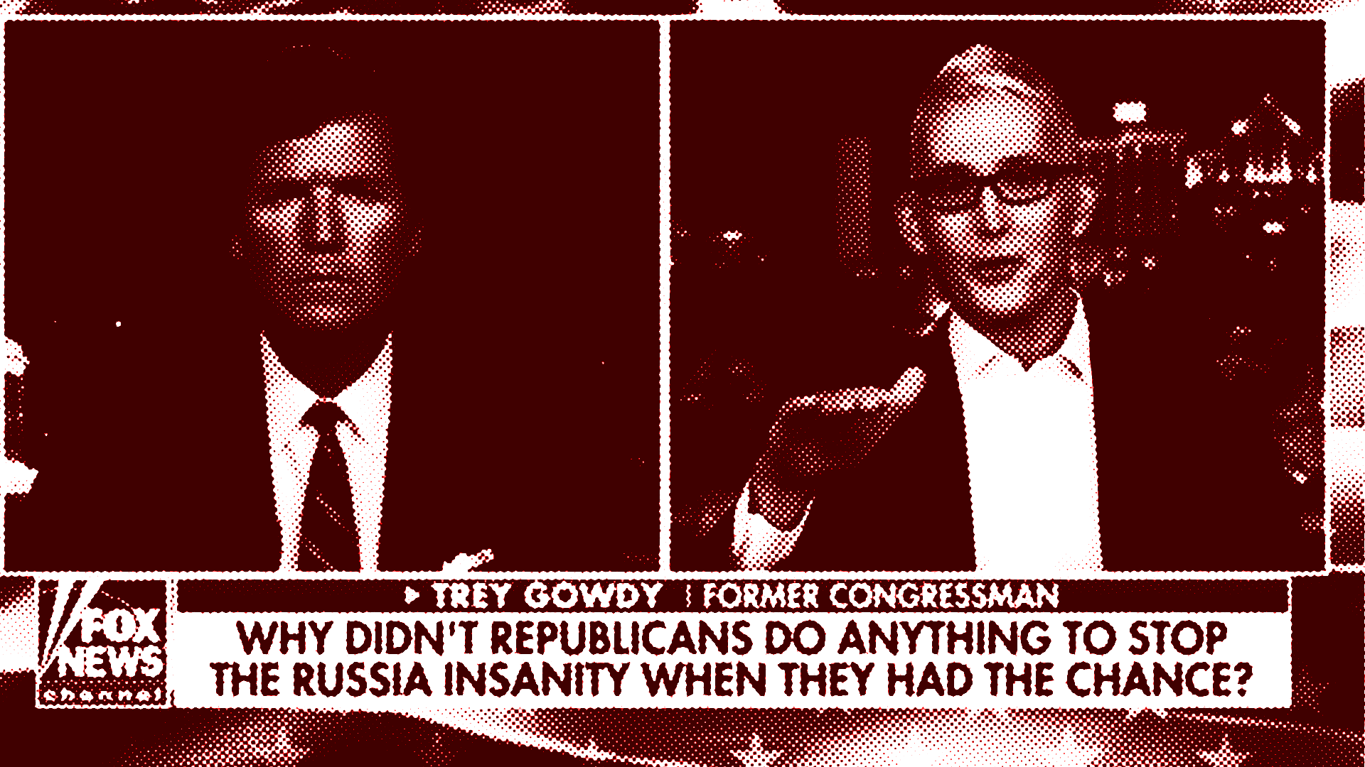 Trey Gowdy talks to Tucker Carlson.