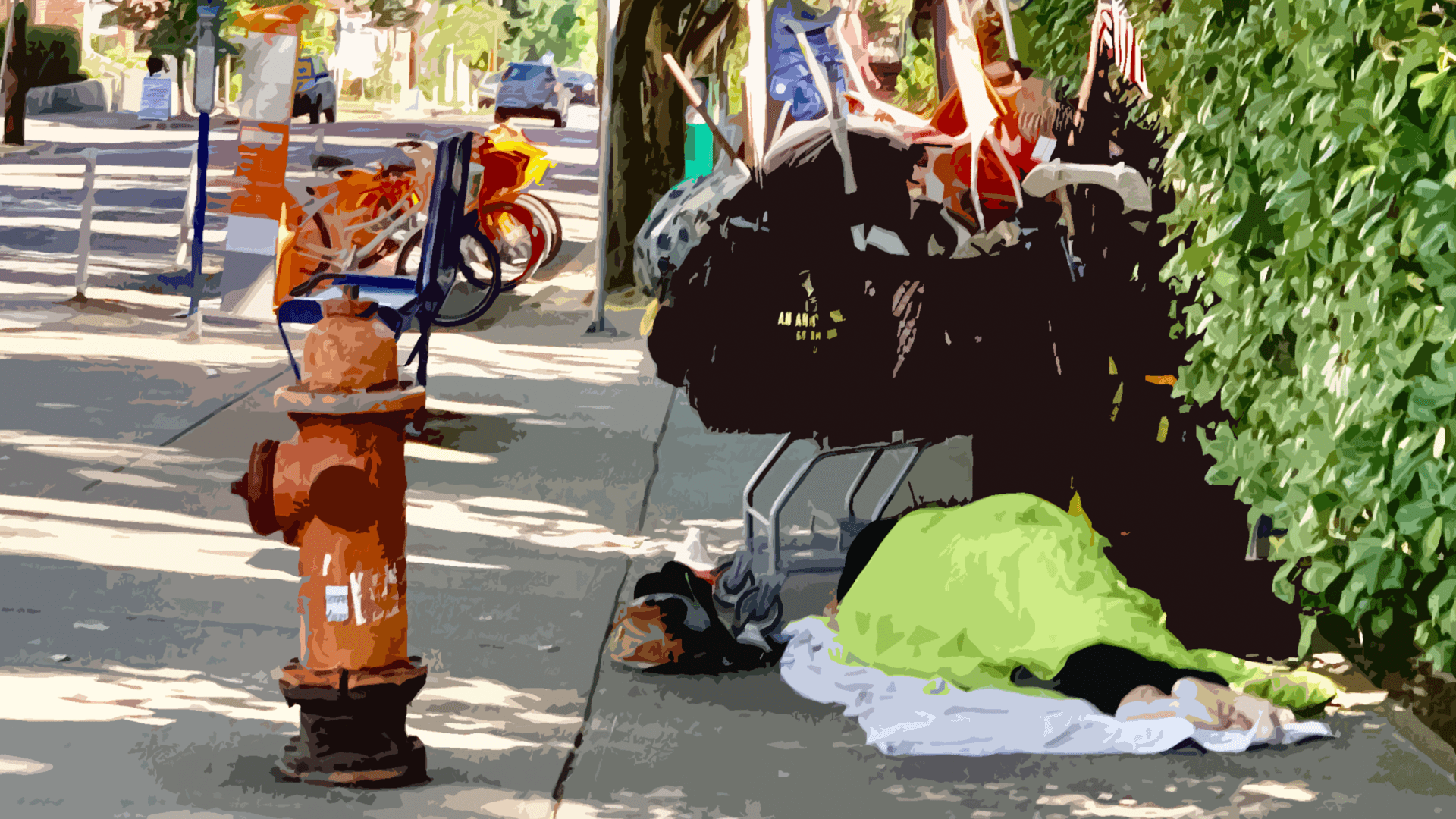 Homelessness in Portland.