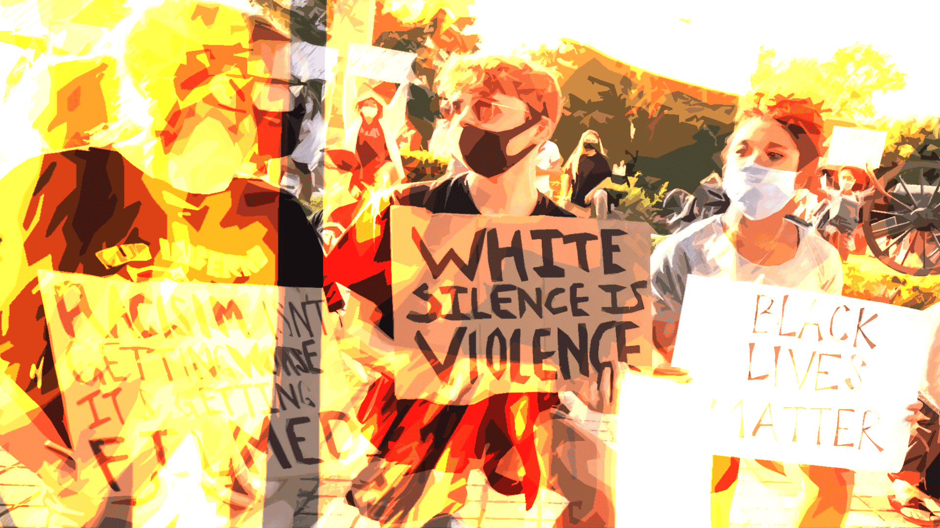 """White silence is violence."""