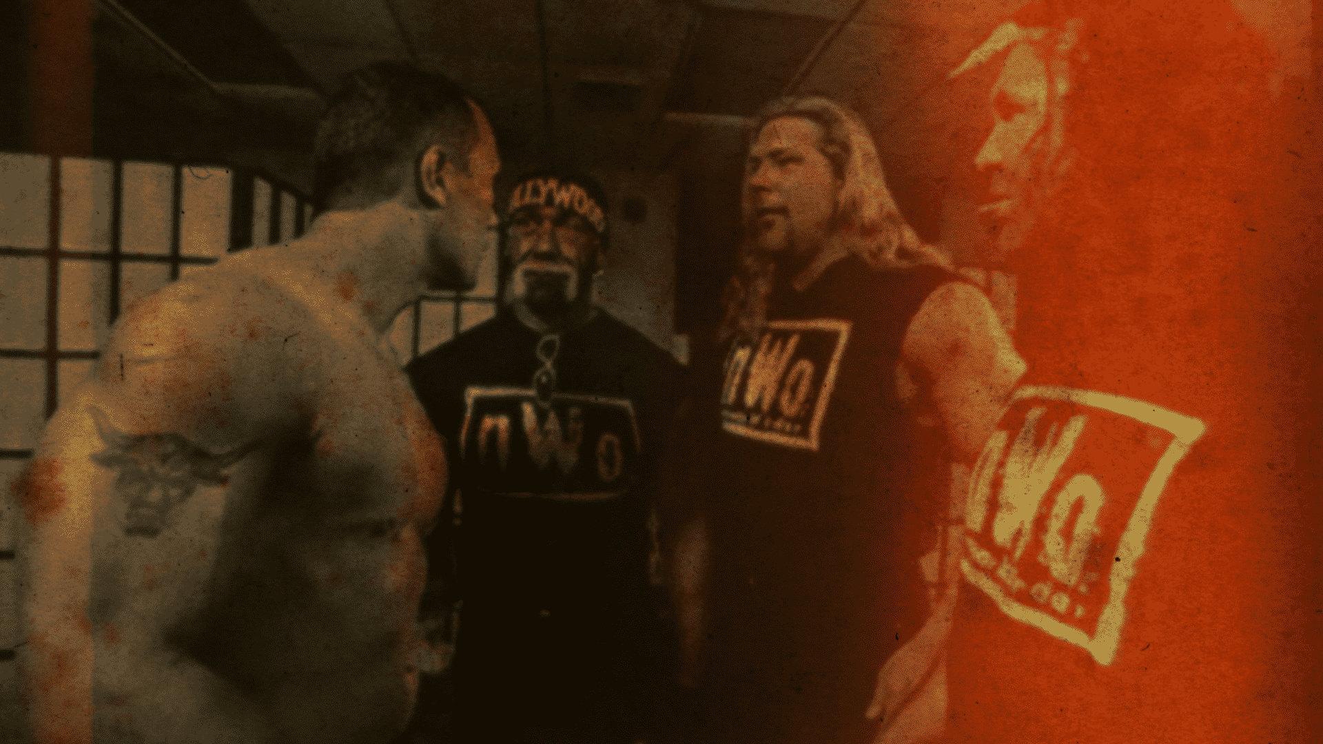 The Rock meets the New World Order