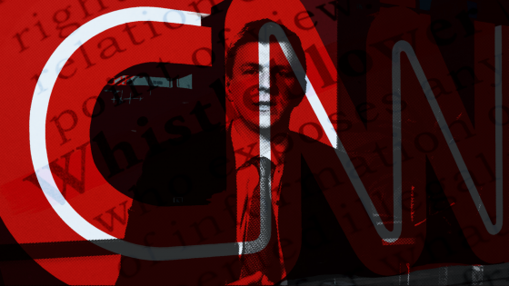 CNN and Project Veritas.