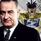 Lyndon B. Johnson and Lance Armstrong