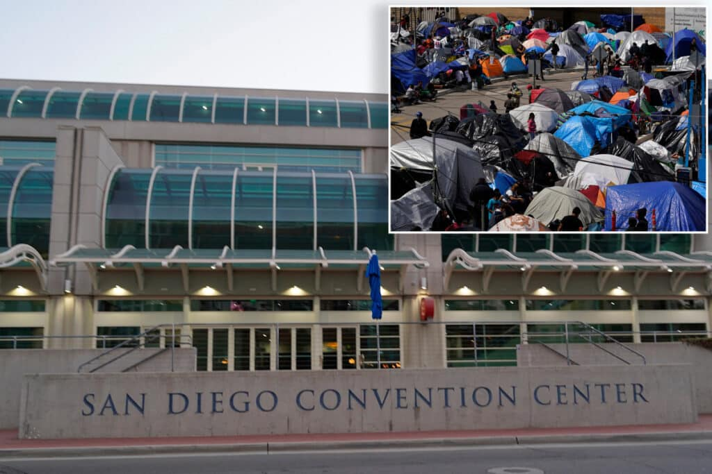 <p>BORDER CRISIS UPDATE: Biden Administration Converting Another Convention Center into Illegal Immigrant Shelter thumbnail
