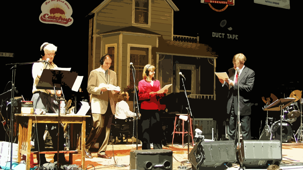 Garrison Keillor reads news from Lake Wobegon.