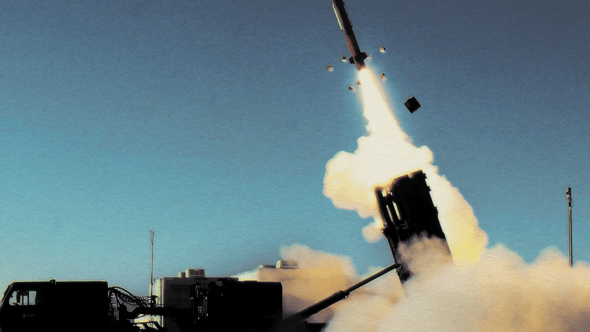 Missile launch.