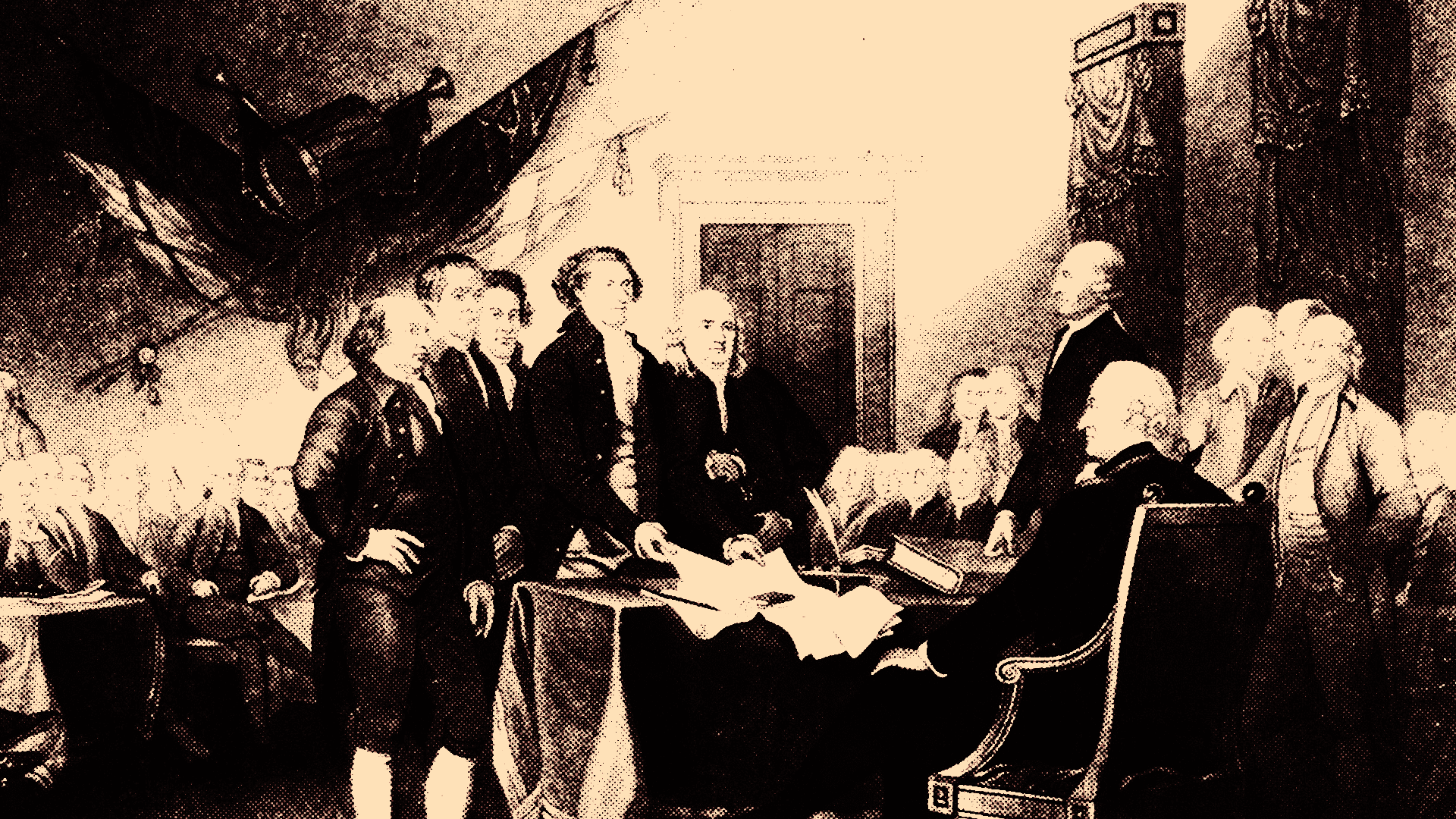 Signing of the Declaration of Independence.