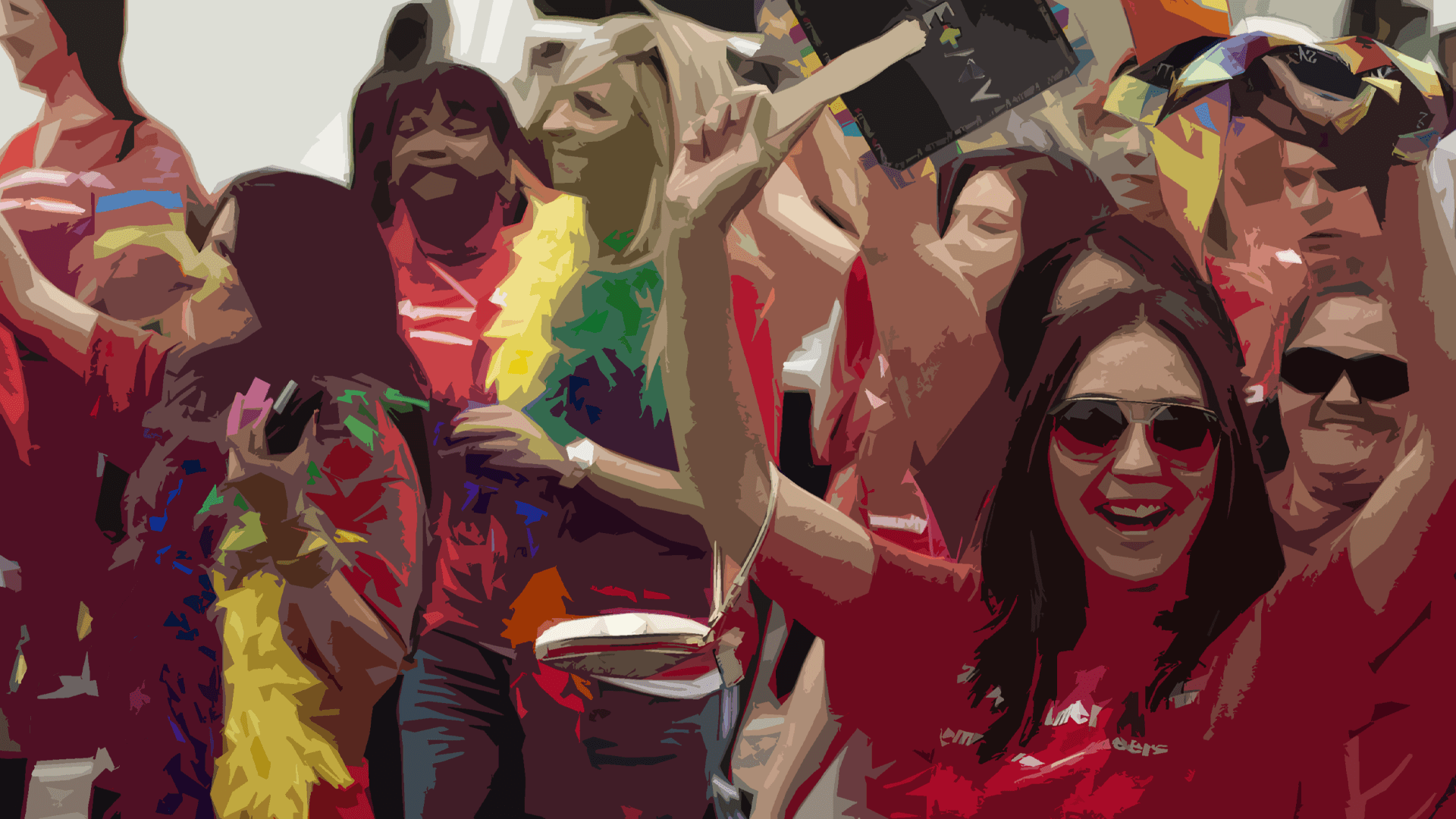 Bank of America Pride March.