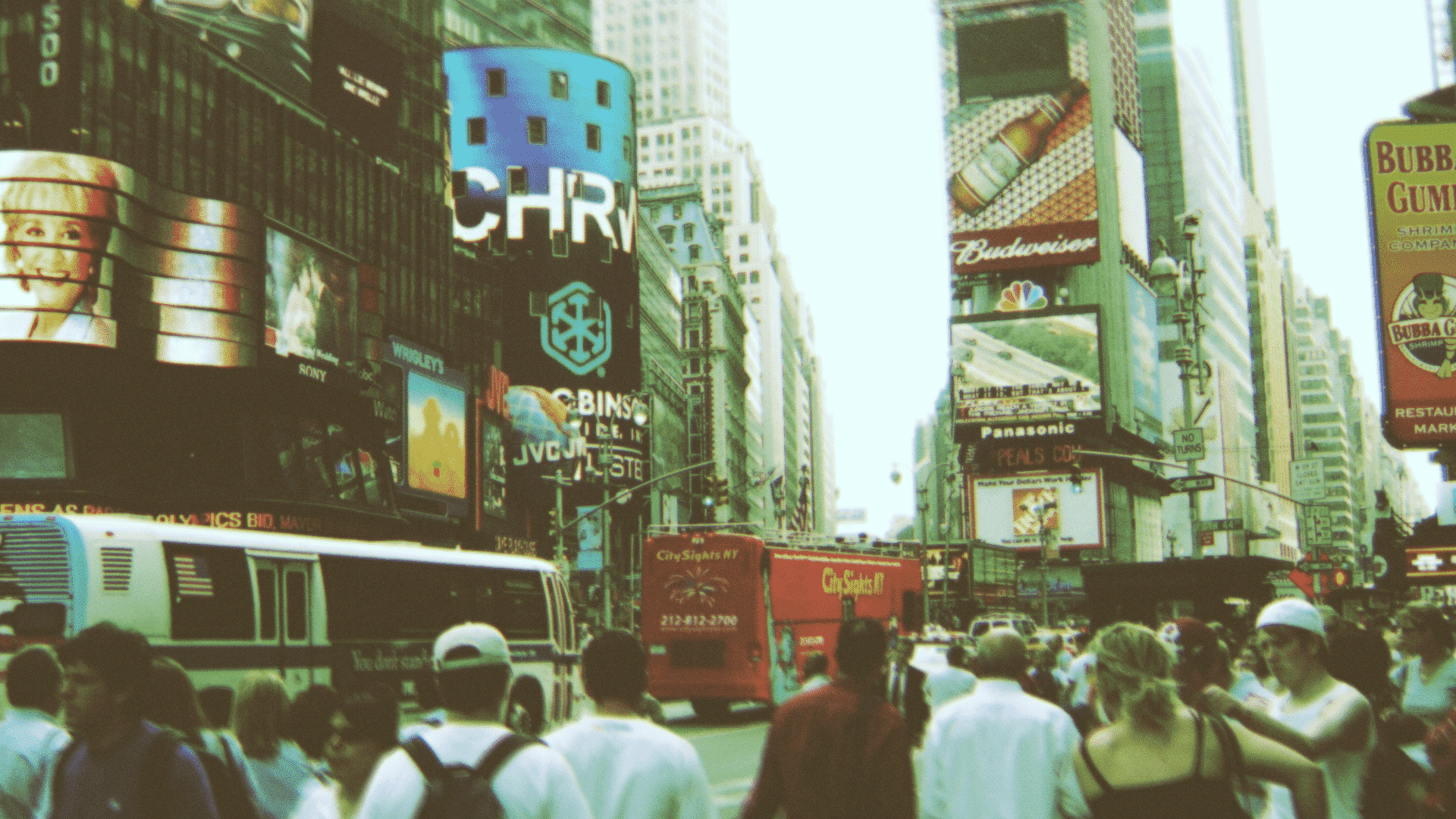 New York City, Times Square.